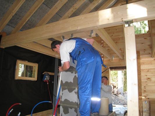 Установка керамического дымохода в деревянном доме дымоходы шидель отзывы форум