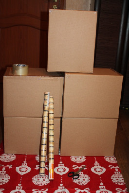 materialy-dlya-raboty-2696 Новогодний камин своими руками - как сделать новогодний камин
