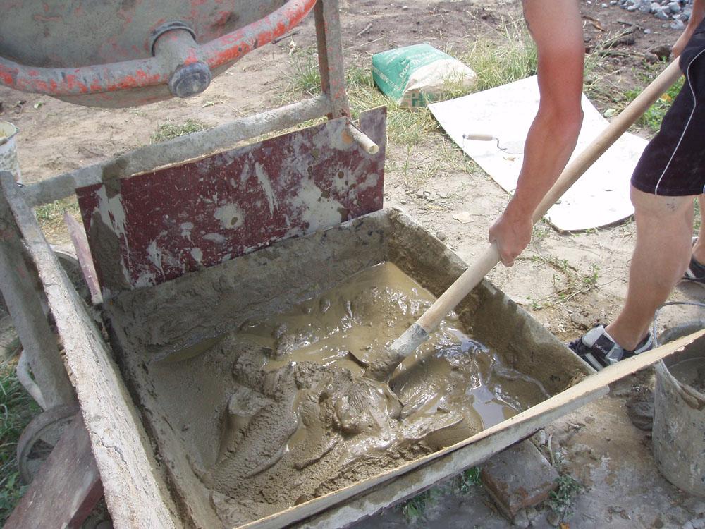 как приготовить цемент