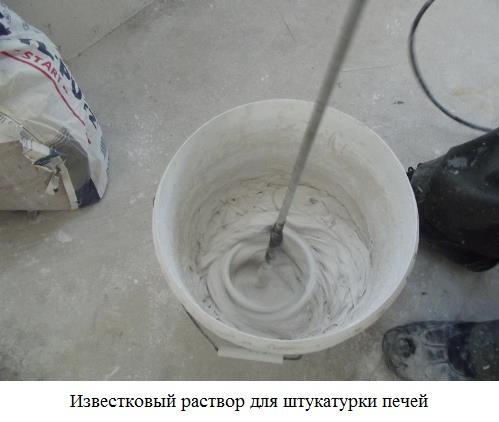 сложный известково цементный раствор