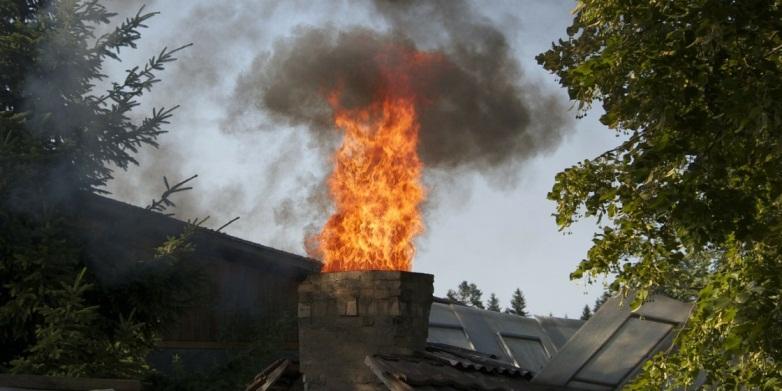 кирпичный дымоход для брусового дома