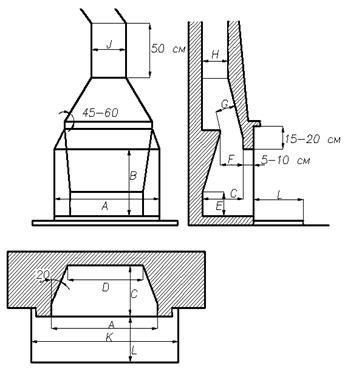 Порядовка топки камина керамический дымоход awt официальный сайт