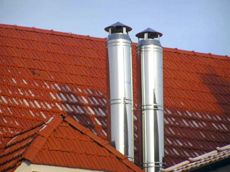 Какой утеплитель для металлических дымоходов минимальный размер от дымохода до стены
