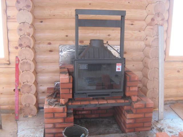 Топки для каминов своими руками дымоход к газовому котлу бакси