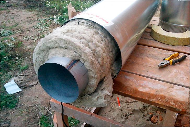 Коаксиальный дымоход утепленный керамические дымоходы купить в новосибирске