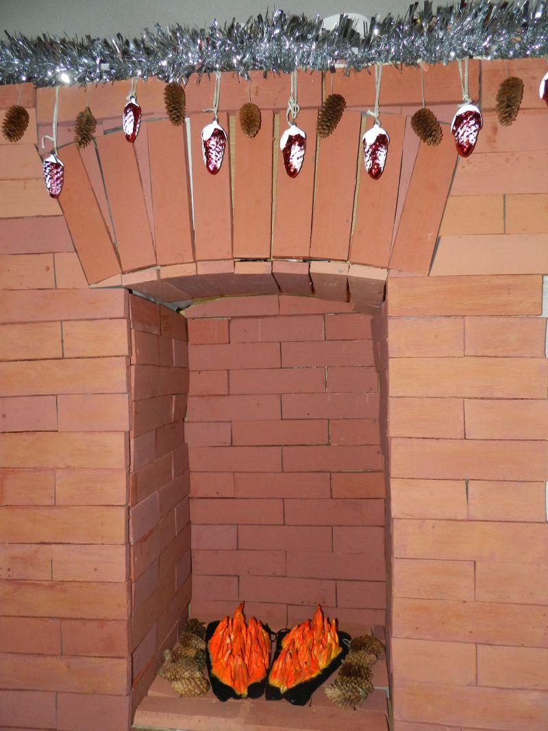 Искусственный огонь для декоративного камина